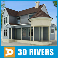 Small town house 01 by 3DRivers