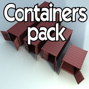 containers 40 20 c4d