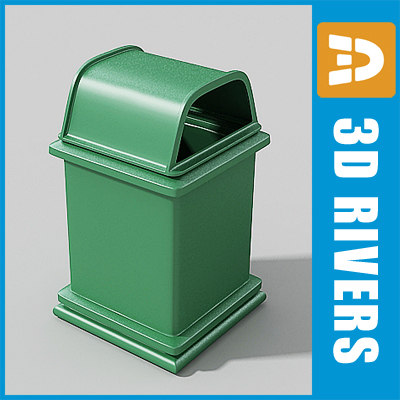 max street trash cans