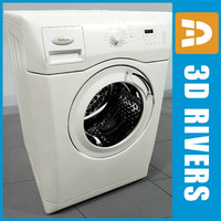 awoe washer 3d model