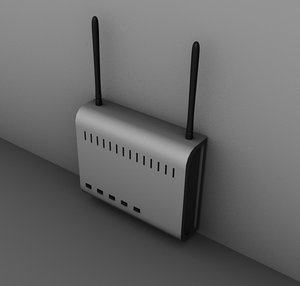 3ds max wifi router