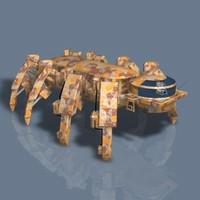 spiderbot ii c4d
