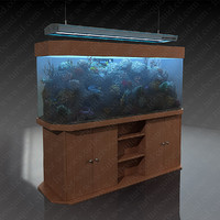 3d aquarium aqua medic tridacna model
