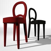 bilou chair promemoria 3d max
