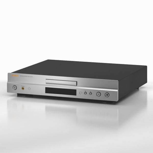dvd 04 3d model