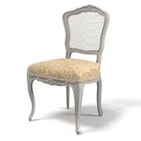 3d model classical stool