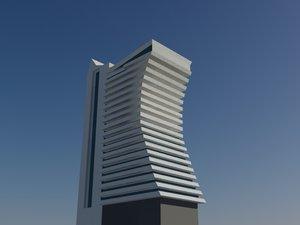 edificio 3d max