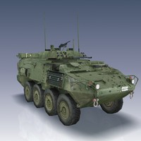 3d lav iii light armoured model