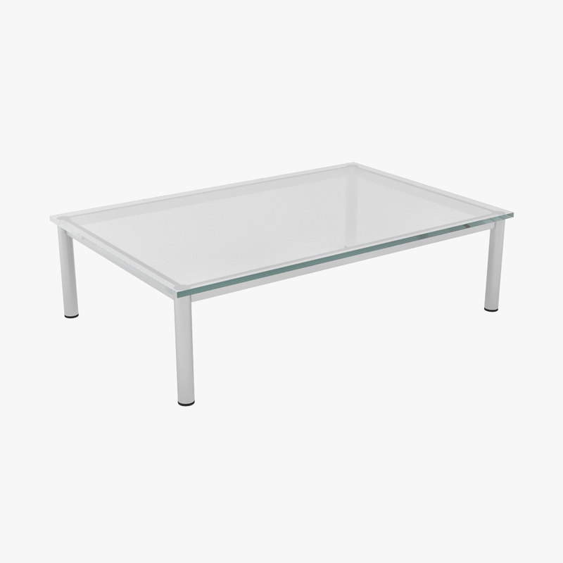 3d le corbusier dining tables