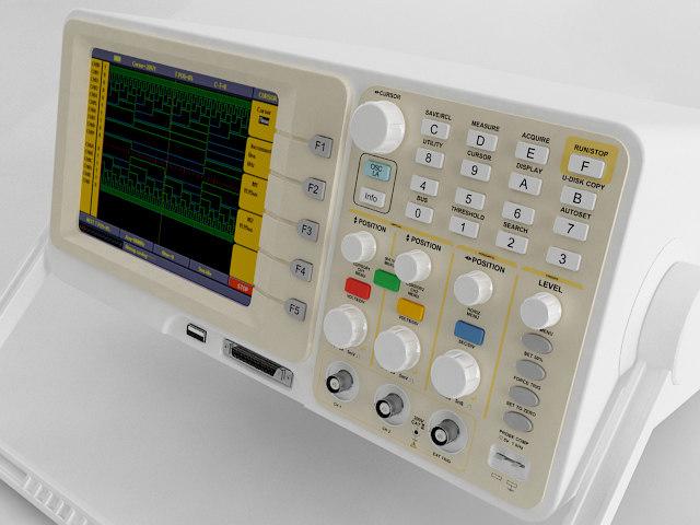 maya digital oscilloscope