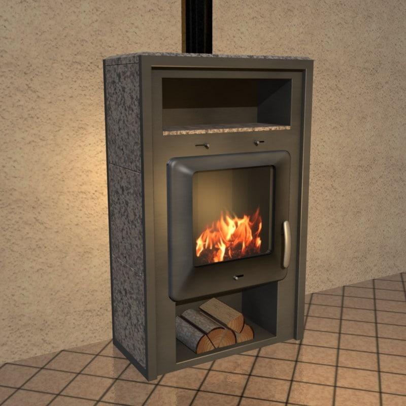 3ds max stove