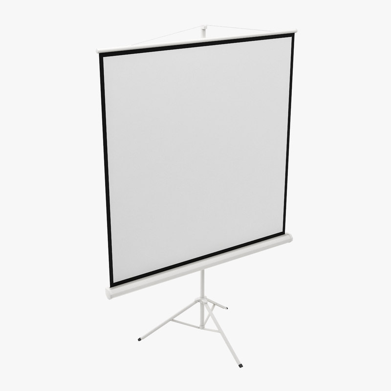 3d projector screen