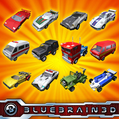 3ds toy cars