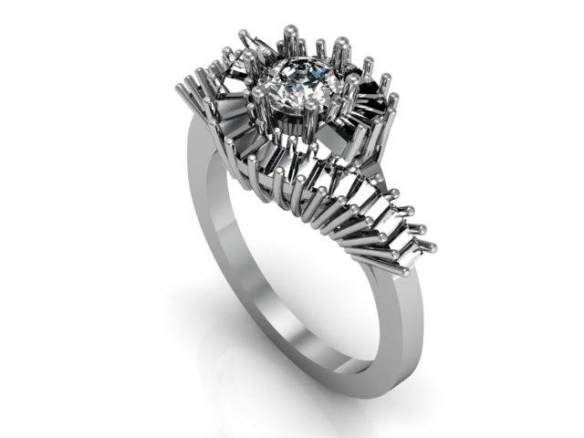 3d model ring