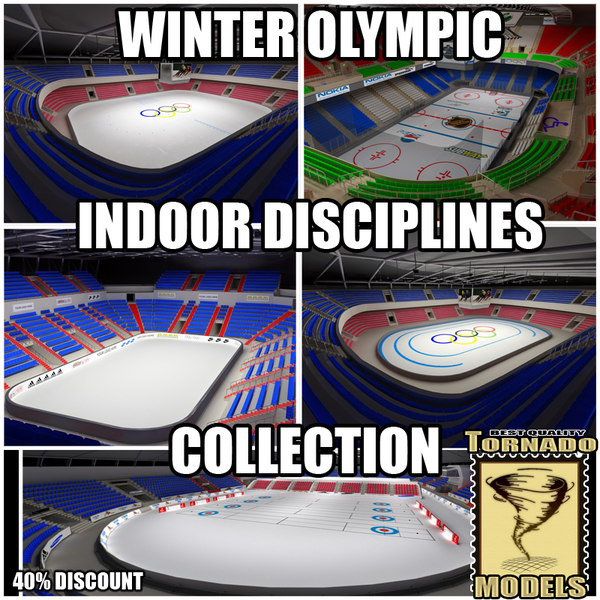 winter olympic indoor disciplines dwg