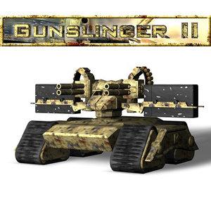 gunslinger ii 3d c4d