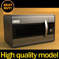 microwave oven 3d max