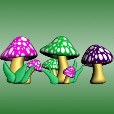 mushrooms toon max
