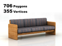 3ds max sofa rendering