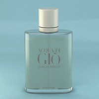 3d model perfume giorgio armani