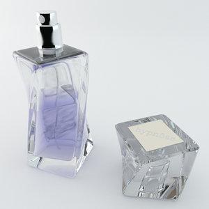 3ds max lancome perfume