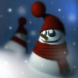 little snowman max