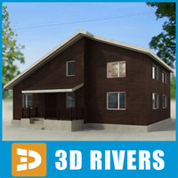 Small town house 05 by 3DRivers