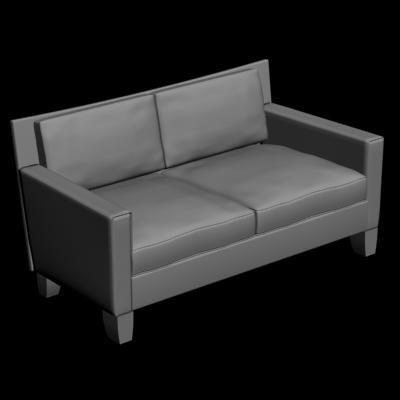 muranova sofa 3d max