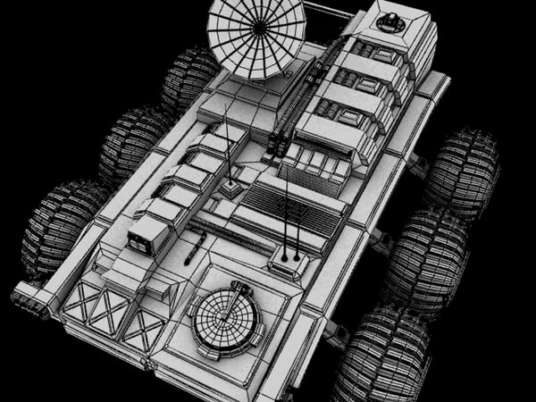 sci fi buggy 3ds