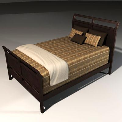 maya bed interior