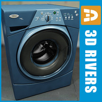 3d washing machine washer