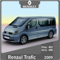 3ds max 2009 renault trafic