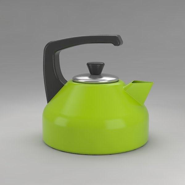 tea maker 3d model
