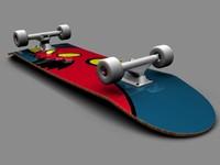 3ds max skateboard b