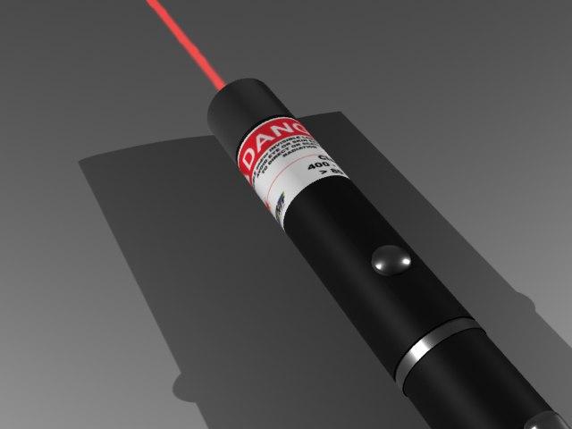 3d laser pen model