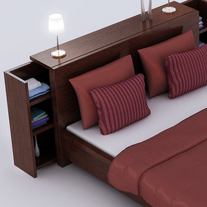 3d contemporary bed