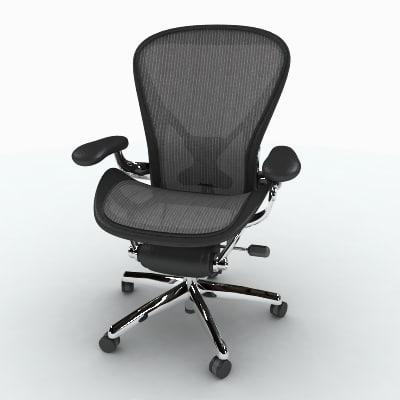 herman miller aeron chair - Herman Miller Aeron Chair
