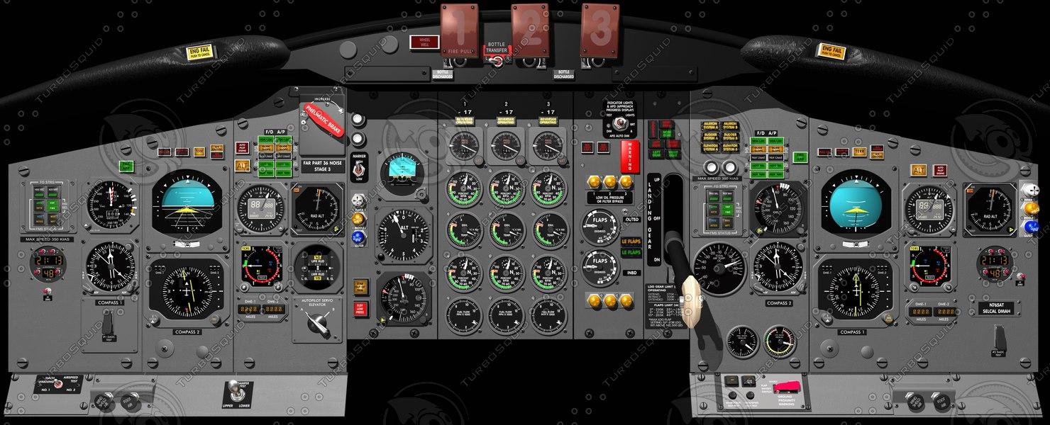 maya forward instrument panel