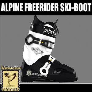 maya alpine freerider ski-boot