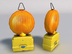 3d model portable beacon