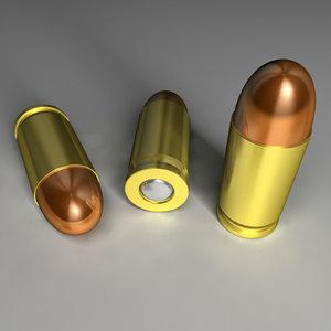 9mm bullet c4d free