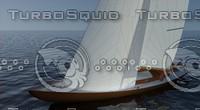 10m wooden sailyacht