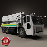 Concrete Pump Truck Mack