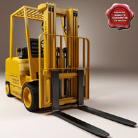 3d model of Forklift Hyster S60XM V2