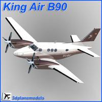 dxf beechcraft c90 king air