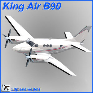 beechcraft c90 king air 3ds