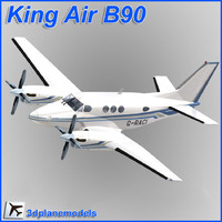 beechcraft c90 king air dxf