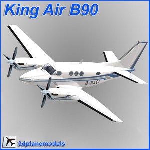 beechcraft c90 king air dxf