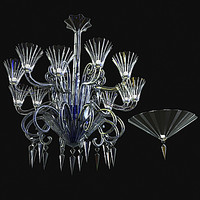 3d lustre bracket baccarat model