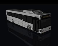 3d shuttle bus model